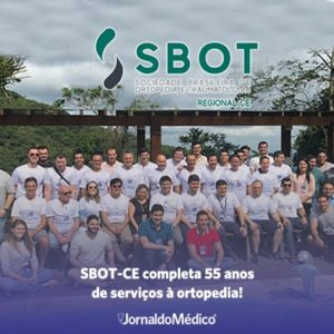 SBOT-CE completa 55 anos de serviços à ortopedia!