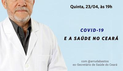 Live coronavírus covid-19 saúde Ceará
