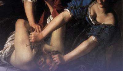 APRECIAÇÃO CRÍTICA DE UMA OBRA DE ARTE – Judith decapitando Holofernes (1612/1613) – Artemisia Gentileschi (1593-1656)