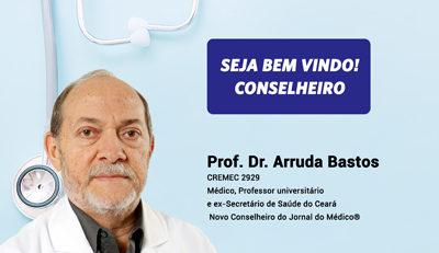 Bem-Vindo, conselheiro Prof. Dr. Arruda Bastos!