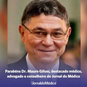 Parabéns Dr. Mauro Gifoni