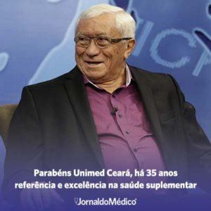 Unimed Ceará, 35 anos de referência e excelência na saúde suplementar!
