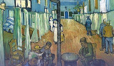 – APRECIAÇÃO CRÍTICA DE UMA OBRA DE ARTE – Ala do Hospital de Arles