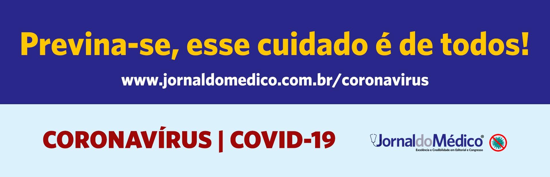 coronavírus Jornal do Médico®