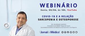 webinário Saúde em Pauta Hildemar Queiroz Sarcopenia Osteoporose